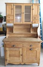 Antique Kitchen Cupboard - 2-board Top!