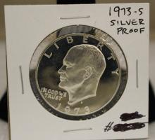 1973 S Eisenhower Silver Proof Coin