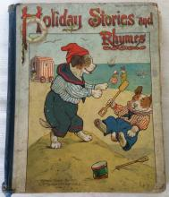ca. 1900 Holiday Stories & Rhymes Illust. by Wain