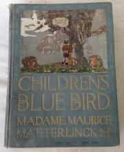 1913 The Children's Blue Bird by Maeterlinck