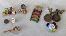 ca. 1970's Rainbow Girl Pins