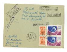 Lee Harvey Oswald - Accused Assassin, JFK - Original Autographed Envelope, 1961