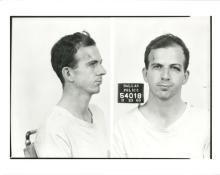 Lee Harvey Oswald - Accused Assassin, JFK - Original Silver Print 8x10 Mug Shots