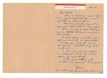 Lee Harvey Oswald - Accused Assassin, JFK - Autographed Letter (ALS), 1961