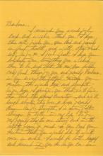 John Gotti - American Mobster - Autographed Handwritten Letter (ALS), 1998