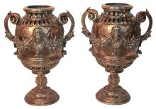 Fine Pair Of 19th Century French Gilt Bronze