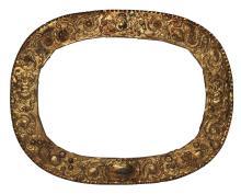 18th Century Peruvian Gilt Brass Frame