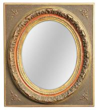 Continental Gilt Wood Mirror