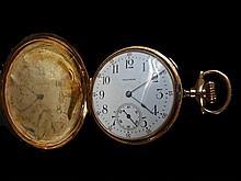 14K Gold Pocket Watch, American Waltham Watch Co
