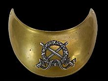 19th C. French Military Gorget