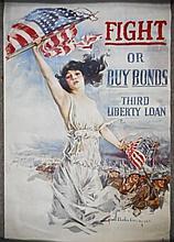 U.S. WWI Propaganda Poster, 1917