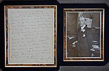 Autographed Letter, George M. Cohan