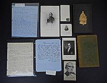 Daniel Webster Autograph & Ephemera Collection