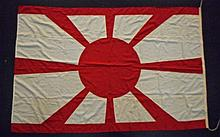 WWII Japanese Naval Flag