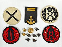 Collection of WWII Japanese Insignia