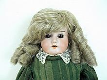 German Bisque Head Doll, Armand Marseille