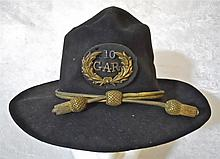 Civil War Era U.S. Army Slouch Hat with GAR Badge