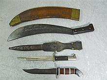 WWII Mixed Edged Weapons Group