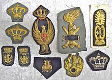 WWII Italian Officer Insignia Group