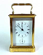 French Hour Repeat Carriage Clock, Japy Freres