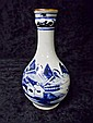 19th C. Chinese Canton Export Water Bottle