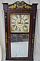 19th C. Boardman & Wells Mantel Clock