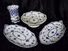 (4pc) Royal Copenhagen Porcelain