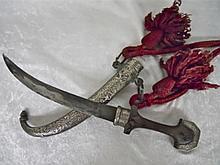 19th C. Arabian / N. African Koummya Dagger