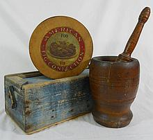 Collection of Three Antique Primitive Pieces (3)