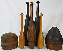 Antique Exercise Pins and Hat Forms (7)