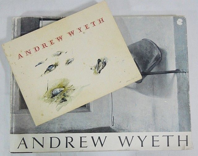 Two Andrew Wyeth Books, One Autographed