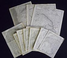 Collection of 19th C. European Maps (12)