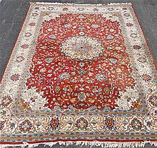 Hand Loomed Room Sized Persian Rug