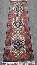 Semi Antique Hand Loomed Persian Runner