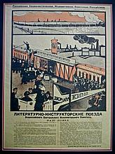 Russian Civil War Bolshevik Propaganda Poster