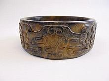 Antique Chinese Hard Stone Bracelet