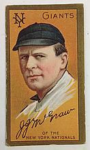 T205 John McGraw Sovereign Tobacco card