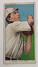 T206 Home Run Baker American Beauty Tobacco card