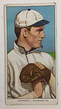 T205 Walter Johnson American Beauty Tobacco card