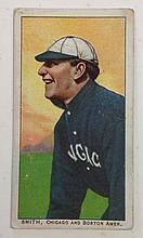 T206 Frank Smith Chicago & Boston Uzit Tobacco card