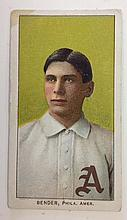 T206 Chief Bender Piedmont Tobacco card