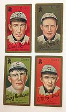4 T205 Chicago Nationals Tobacco cards