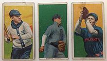 3 T206 Detroit Tobacco cards