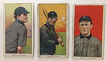 3 T206 Pittsburgh Tobacco cards