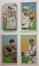 4 T206 Brooklyn Tobacco cards