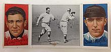 T202 Merkle & Doyle - Donlin Out at First Base Hassan Tobacco card