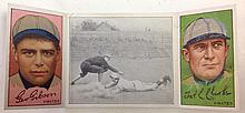 T202 Clarke & Gibson - Chase Dives into 3rd Hassan Tobacco card