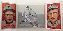 T202 Archer & McIntire - Chase Beats out a Hit Hassan Tobacco card