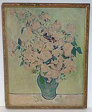Copy of Van Gogh O/B floral still life