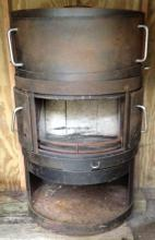 Danish Modern Rais wood stove